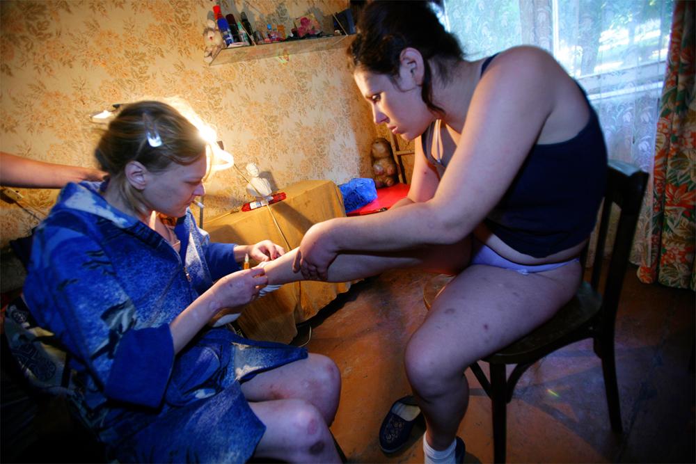 Проститутки-наркоманкиполиция-фото